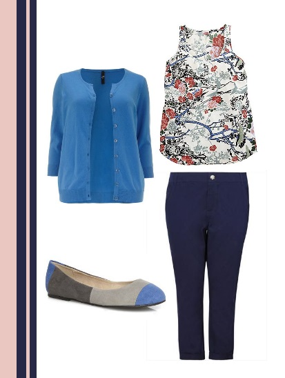 Navy goes oriental casual